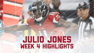 Download Julio Jones' Career-High 300-Yard Game! | Panthers vs. Falcons | NFL Week 4 Player Highlights Video