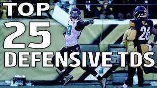 Download Top 25 Defensive Touchdowns of the 2017 Season! | NFL Highlights Video