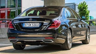 Download Mercedes S 400 d and new diesel engine OM 656 Video