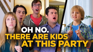 Download Oh No. There Are Kids At This Party. Video