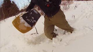Download Testing My Handmade SnowSurf Video