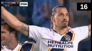 Download Zlatan Ibrahimovic All 16 Goals LA Galaxy MLS 2018 Video
