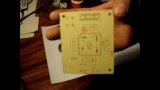 Download DIY PCB silkscreen cheap, easy and fast Video