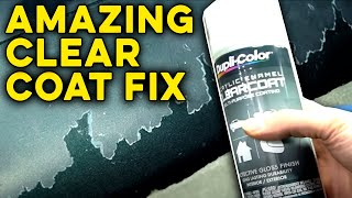 Download Can You Repair Badly Damaged and Peeling Clear Coat? Video