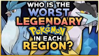 Download Who Is The WORST Legendary Pokemon In Each Region? Video