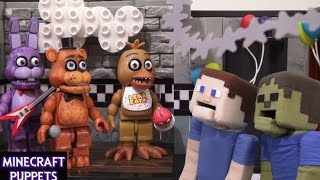 Download Five Nights at Freddy's fnaf McFarlane toys lego construction set Show Stage unboxing review Video