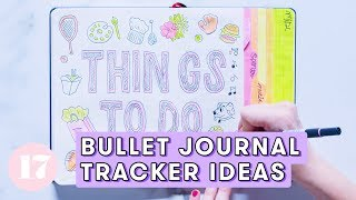 Download Bullet Journal Tracker Ideas | Plan With Me Video