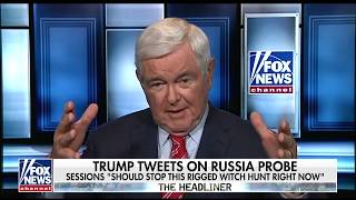 Download Gingrich: 'Good Chance' Manafort Wins at Trial, Making Mueller 'Look Like a Fool' Video
