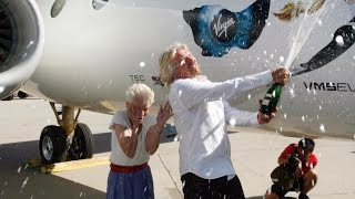 Download Richard Branson thanks his mom for his adventurous spirit Video