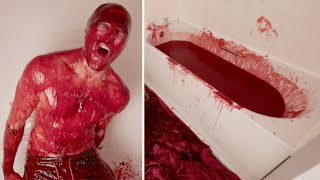 Download Bathing In 90 LITRES of CHILLI SAUCE Video