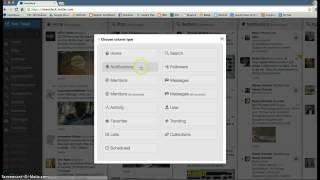 Download How to use Tweet Deck (basics) Video