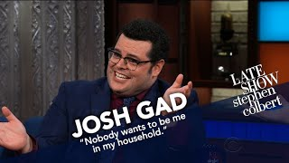 Download Josh Gad Can't Turn Off 'Olaf' Voice Video