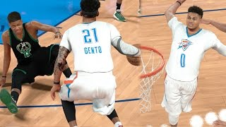 Download NBA 2k17 MyCAREER - GOATbrook Turn Up! Triple Ankle Breaker on Greek Freak! Ep. 151 Video
