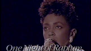 Download Anita Baker - One Night Of Rapture (1987) Video