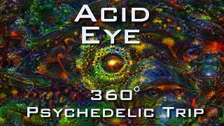 Download ACID EYE 360 VR - Psychedelic Deep Dream Fractal Trip 4K - LSD DMT Mushroom Ayahuasca Video