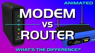 Download Modem vs Router - What's the difference? Video