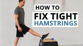 Download How to Fix Tight Hamstrings (HINT: Static Stretching Doesn't Work) Video