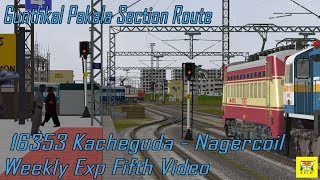 Download MsTs IR OR || 5th video of Loco Change in different way in Act 16353 Kacheguda-Nagercoil Weekly Exp Video