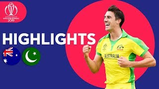 Download Warner Hits Hundred! | Australia vs Pakistan - Match Highlights | ICC Cricket World Cup 2019 Video