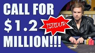 Download Isildur1 makes UNBELIEVABLE Call for $1.2 Million! Video
