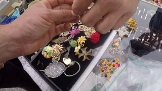 Download Shopping for vintage costume jewelry & antiques at the flea market looking for deals for eBay Video