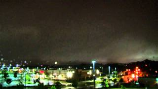 Download Severe Thunderstorm Dramatic Arrival @ Night - Time-Lapse HD from Dusk Till Dawn Video
