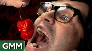 Download World's Hottest Pepper Challenge - Carolina Reaper Video