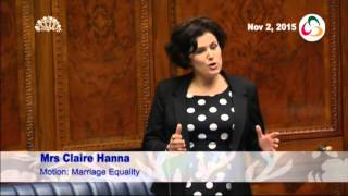 Download Claire Hanna - Sponsor of SDLP Equal Marriage Motion Video