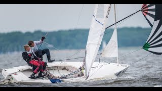 Download Flying Dutchman sailing, GER 90 Video