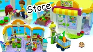Download Surprise Blind Bags + Queen Elsa Shops at Lego Friends Supermarket Store For Food Video