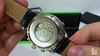 Download Croton Imperial automatic wrist watch for men - video review Video