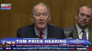 Download PART 1: Tom Price Confirmation Hearing, Trump's Secretary of Health and Human Services Nominee - FNN Video