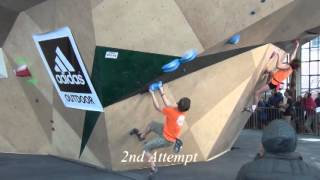 Download Colin Duffy Bouldering Youth Divisionals Championship Finals 2016 Video