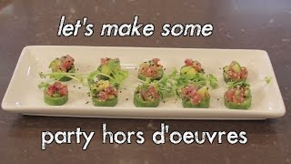 Download Cucumber Cup Party Hors d'Oeuvres Video