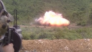 Download Rabbit hunting using AK47 & LG4 MGL Grenade launcher Video