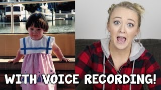 Download HOW MY VOICE SOUNDED AS A BABY! Video