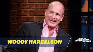 Download Woody Harrelson Had a Bizarre Dinner with Trump, Melania and Jesse Ventura Video