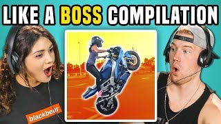 Download ADULTS REACT TO LIKE A BOSS COMPILATION Video