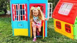Download Roma and Diana Pretend Play with Playhouse for kids, Funny video Compilation Video
