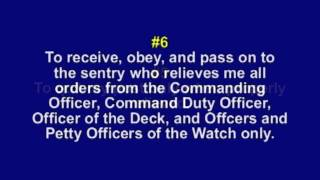 Download The Eleven General Orders of a Sentry Video