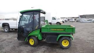 Download Lot 219 - 2007 John Deere 2030 Pro-Gator Turf Truck With Hydraulic Dump Box - Lot 219 Video
