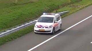 Download Veel Politie-eenheden en een Ambulance zijn met spoed onderweg naar een ongeval op de A58 Video