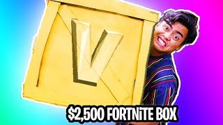 Download UNBOXING a $2500 GOLDEN Fortnite Mystery Box! Video