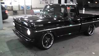 Download Twin Turbo F100 on Forgiatos shining! Video