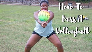 Download How To Pass A Volleyball For Beginners ! - Tutorial Video