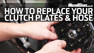 Download How to Replace Clutch Plates and Hoses | Basic Motorcycle Maintenance Video