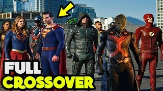 Download CW's Arrowverse Planning to do a FULL 4 Show Crossover Next Season! Video