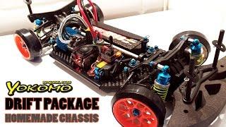 Download RC DRIFT CAR - YOKOMO Drift Package Homemade Chassis Video