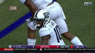 Download TCU vs Arkansas Football Highlights Video