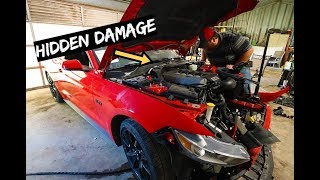 Download Everything Wrong with $10,000 Wrecked 2017 Mustang GT Video